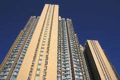 Housing Estate Building. A building of a housing estate in Hong Kong Stock Images
