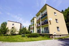 Housing estate at Bulwary Slowackiego in Zakopane Royalty Free Stock Photography