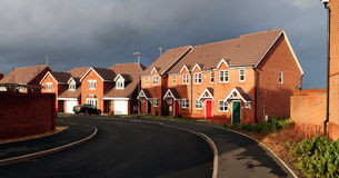 Housing estate england Stock Images