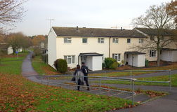 Housing Estate in England Royalty Free Stock Photography