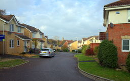 Housing Estate in England Royalty Free Stock Photo