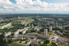 Housing estates in Vilnius Royalty Free Stock Images