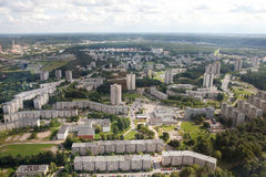 Housing estates in Vilnius Royalty Free Stock Photo
