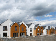 Housing in Europe Royalty Free Stock Photography