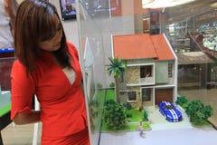 Housing exhibition Stock Photos