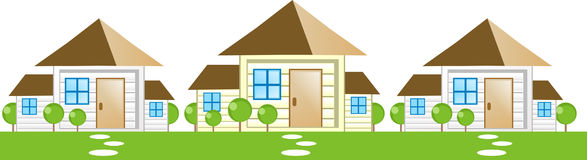 Housing icon. Housing or real estate icons ( property icon vector illustration
