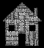 Housing industry graphics Stock Images