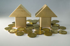 Housing Loan concept Stock Image