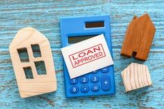 Housing loan Stock Photo