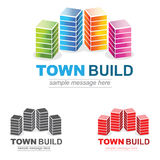 Housing Logo Royalty Free Stock Photo