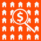 Housing market. Trying to find a good deal on the housing market Royalty Free Stock Photos