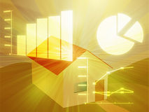 Housing market analysis Stock Image