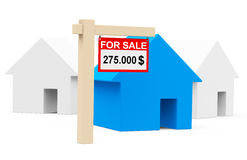The housing market Royalty Free Stock Photography
