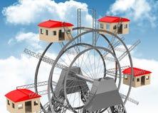 The housing market Royalty Free Stock Image