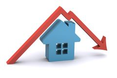 Housing Market Fall Stock Images