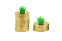Housing Market Property ladder Stock Photo