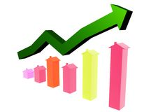 Housing Market Rise Stock Image
