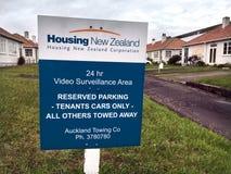 Housing New Zealand Corporation酒家状态房子 免版税库存图片
