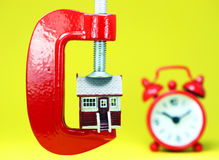 Housing Pressure Royalty Free Stock Photography