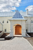 The housing of prior of Saint Anthony monastery in Veliky Novgorod, Russia. The housing of prior (after restoration) of Saint Anthony monastery in Veliky Royalty Free Stock Image