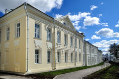 The housing of prior of Saint Anthony monastery in Veliky Novgorod, Russia. The housing of prior (after restoration) of Saint Anthony monastery in Veliky Stock Photo
