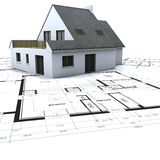 Housing project overview Royalty Free Stock Photography
