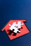 Housing Puzzle Stock Image