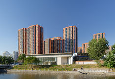 Housing residences in Beijing Stock Photo
