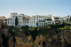 Housing in Ronda, Spain Stock Photos