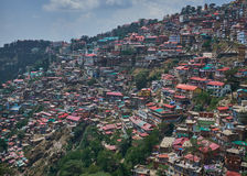 Housing in Shimla Royalty Free Stock Images