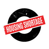 Housing Shortage rubber stamp. Grunge design with dust scratches. Effects can be easily removed for a clean, crisp look. Color is easily changed Stock Photo