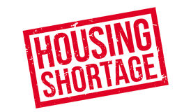 Housing Shortage rubber stamp. Housing Shortage, rubber stamp on white. Print, impress overprint Royalty Free Stock Photography