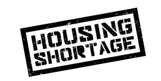 Housing Shortage rubber stamp. Housing Shortage, rubber stamp on white. Print, impress overprint Stock Photos