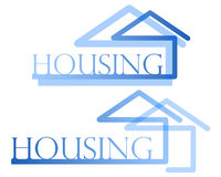 Housing symbol Royalty Free Stock Photography