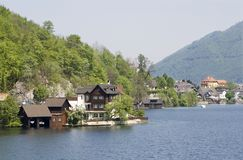 Housing by traunsee Royalty Free Stock Images