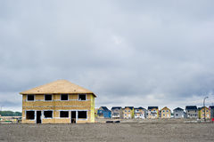 Housing Under Construction stock images