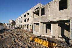 Housing under Construction Stock Photo