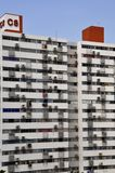 Housing units near Bangkok royalty free stock photos