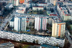 Housing in Wroclaw Stock Photography