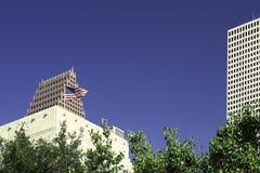 Houston 1 drapacze chmur Obrazy Royalty Free