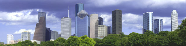 Houston Afternoon Royalty Free Stock Images
