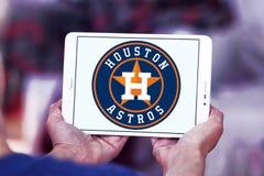 Houston Astros basketlaglogo arkivfoto