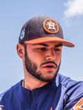 Houston Astros Lance McCullers Jr 2017 imagens de stock royalty free
