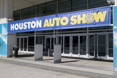 Houston Autoshow Entrance. HOUSTON - JANUARY 2012: The entrance to the Houston International Auto Show on January 28, 2012 in Houston, Texas Stock Image