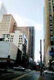 Houston centrumbyggnad arkivbilder