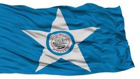 Houston City Flag d'isolement, Etats-Unis d'Amérique Images stock