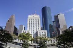 Houston City Hall, Texas stock afbeelding