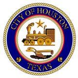 Houston City Seal Illustration de Vecteur