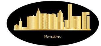 Houston city skyline Stock Image