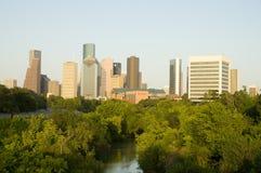Houston da baixa Fotos de Stock
